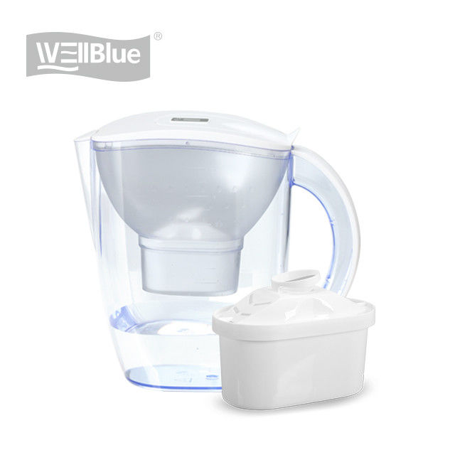 Plastic Drinking Alkaline Water Filter Pitcher BPA Free 3.5L With High PH
